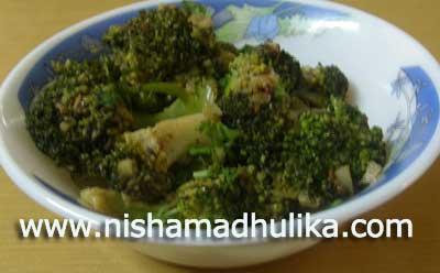 Broccoli Fry