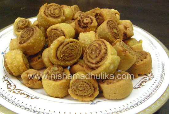 Cake Recipes In Marathi Oven: Bhakarwadi Recipe