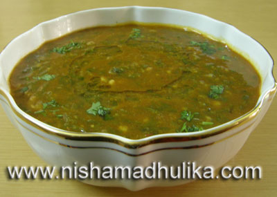 ... दाल –Chana dal Palak recipe – Palak Dal Spinach and Lentils