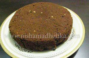 How to make perfect eggless chocolate cake