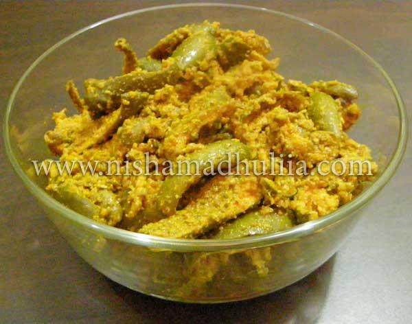 Dried Mango Pickle Recipe