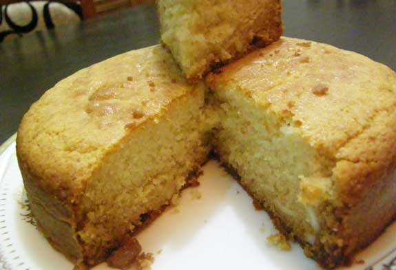 Eggless Indian Cake