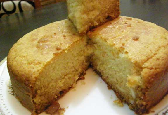 Eggless Sponge Cake Recipe In Hindi