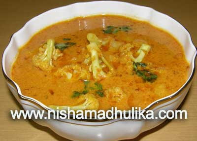 Gobhi Masala Curry