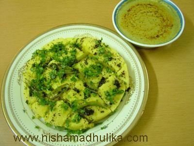 Instant dhokla recipe nishamadhulika ingredients to make instant dhokla forumfinder Images