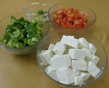 Kadhai Paneer Recipe - How To Make Kadai Paneer - Kadhai Paneer Receipe
