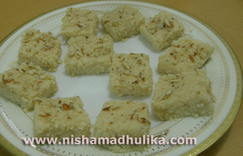 Kalakand recipe kalaland burfee milk cake recipe nishamadhulika kalakand can be made either with condensed milk forumfinder Image collections