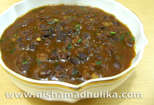 Kala Chana Chole