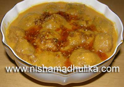 Kathal Kofta Jackfruit Curry Kofta