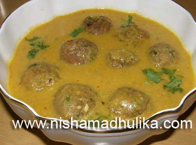 Kela Kofta Curry