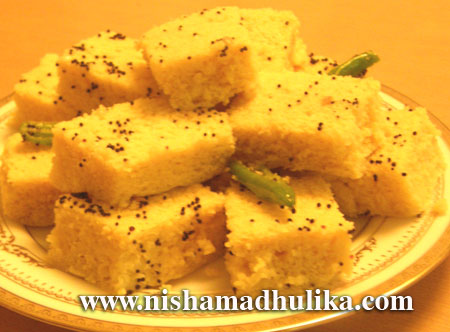 Zero oil recipe page 1 nishamadhulika besan dhokla recipe forumfinder Image collections