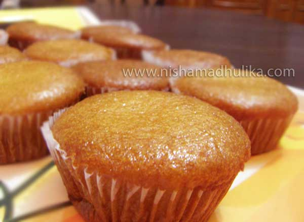 Honey Cupcakes With Cake Mix