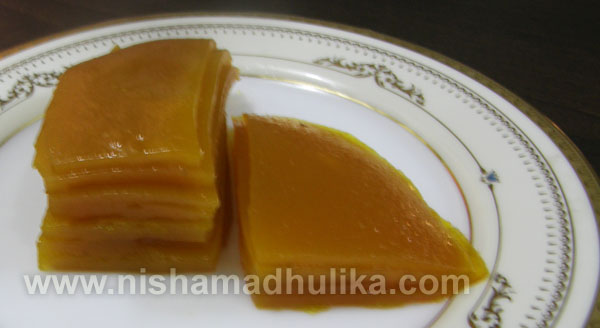 Mango Papad Recipe