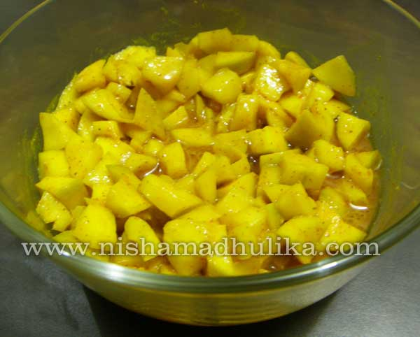 Mango Hing Pickle Recipe