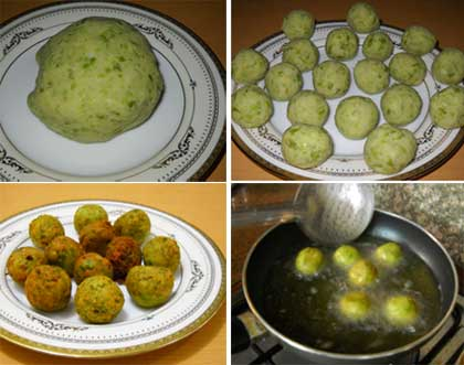 How to make Matar Kofta Curry