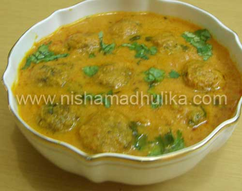 Matar Kofta Curry Recipe