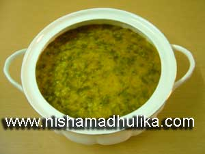 Moong Dal palak Recipe