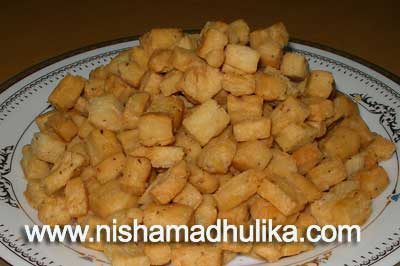 Maida namkeen cubes recipe nishamadhulika we have made namakpare in our last post today we will make maida nanmkeen cubes at home the method to make maida cubes are similar to that of namakpare forumfinder Images