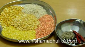 Panchratan Dal Ingredients