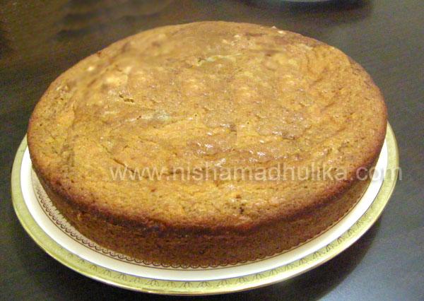 Eggless Cake In Cooker By Nisha Madhulika