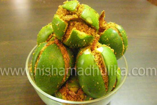 stuffed Mango Pickle AAm ka Achar