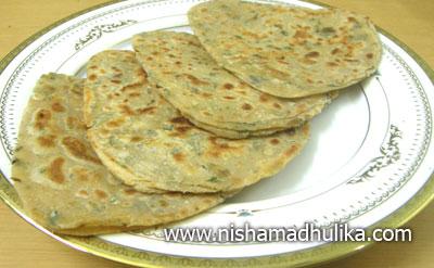 Podina Parantha Recipe