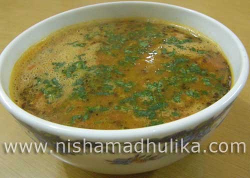 Spicy Totamo Rasam Recipe