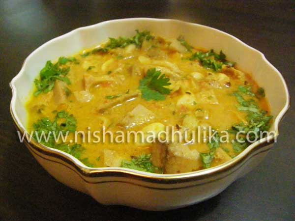 Raw Jackfruit Curry