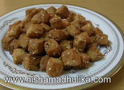 Sweet Shakarpara Recipe