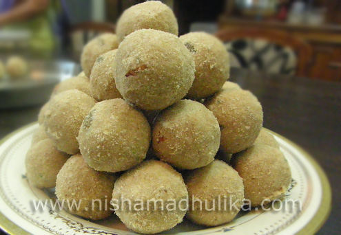 Soybean Laddu Recipe