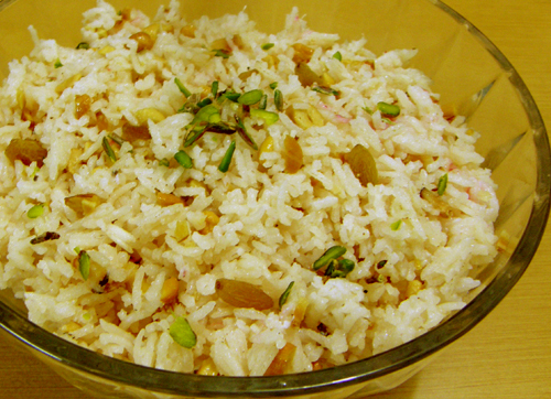 Delicious indian recipes in english language nishamadhulika sweet rice pulao sweet rice recipe forumfinder Image collections