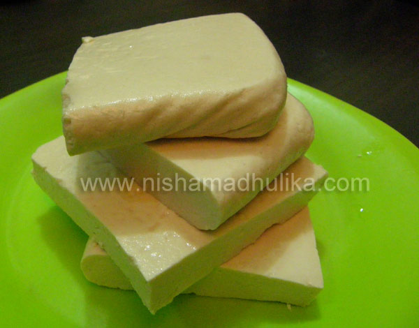 Making Soy Paneer at Home