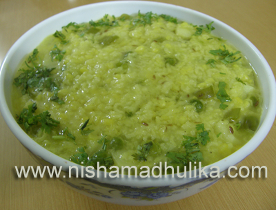 Vegetable Khichdi Recipe