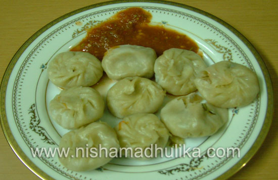 Vegetable momos recipe nishamadhulika momos are tibetan food forumfinder