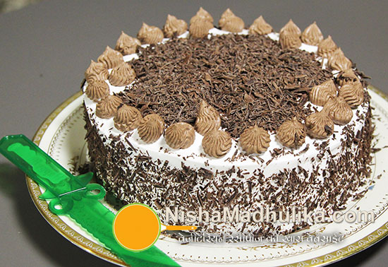 Eggless black forest cake recipe nishamadhulika eggless black forest cake recipe ccuart Image collections