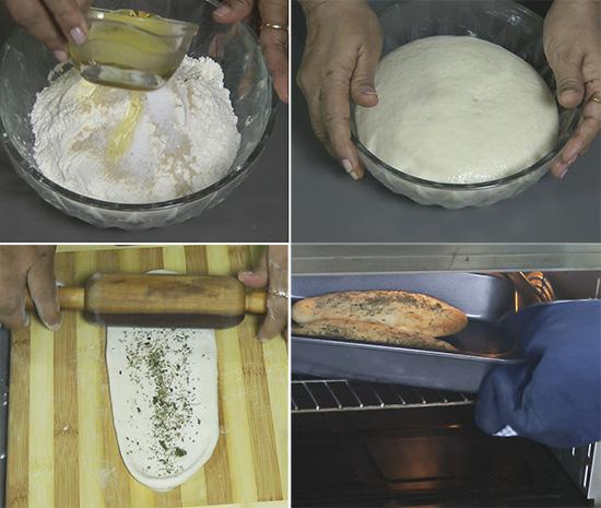 how to make kulcha bread