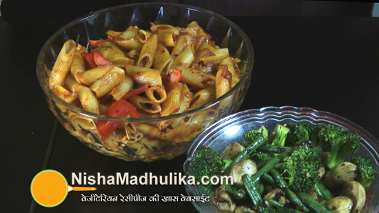 Pasta with mixed vegetables recipe nishamadhulika pasta forumfinder