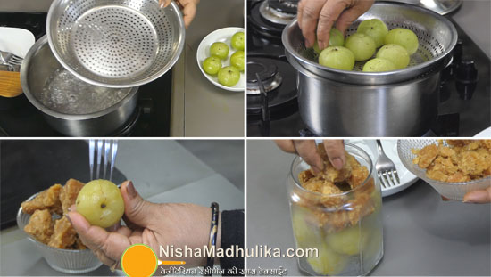 amla murabba with jaggery