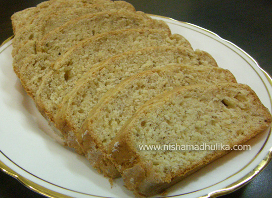 How To Make Banana Cake In Microwave In Hindi
