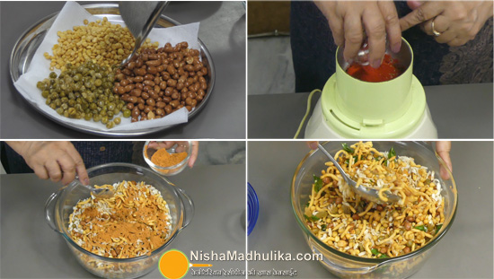 bengali Namkeen Chanachur recipes