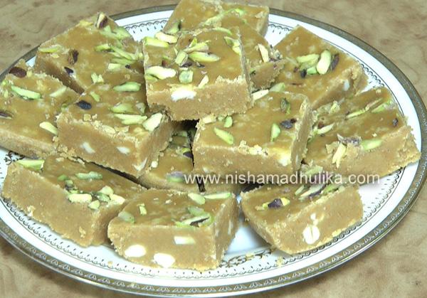 Delicious indian recipes in english language nishamadhulika besan barfi recipe forumfinder Gallery