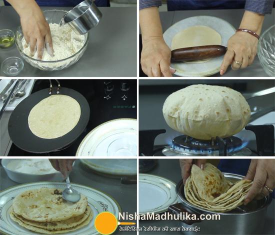 नर्म फूली फूली रोटी | Phulka, Chapati or Roti | How to make Chapati - step  by step recipe