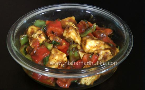 Chilli paneer recipe nishamadhulika chinese recipes forumfinder Choice Image