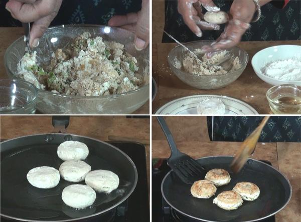 How to make Dahi Kakab, Dahi ka Kakab