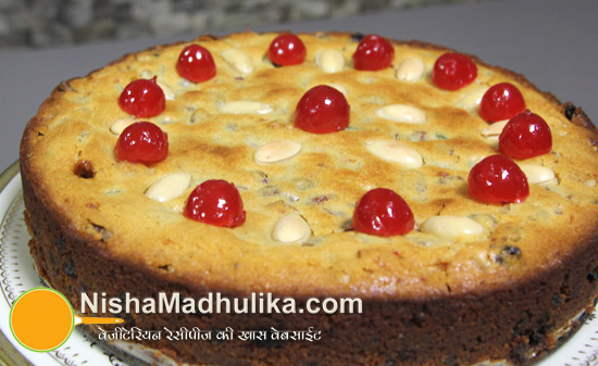Homemade eggless cake recipe in hindi