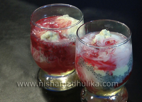 how to prepare falooda ice cream