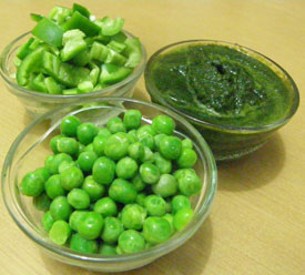 Green Pulav Recipe
