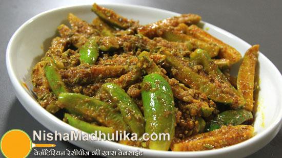 Tendli Pickle Recipe How To Make Tindora Pickle Nishamadhulika Com