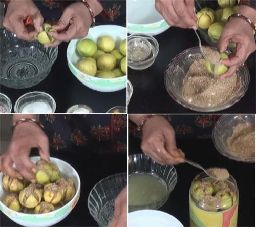 Stuffed Lemon Pickle Recipe Nishamadhulika Com