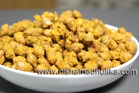 Masala peanuts recipe in microwave nishamadhulika we forumfinder Images